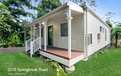 2218 Springbrook Road, Springbrook QLD