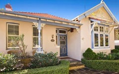47 Awaba Street, Mosman NSW