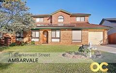 11 Clerkenwell Street, Ambarvale NSW