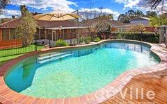 street number 13 Hambledon Avenue, Baulkham Hills NSW