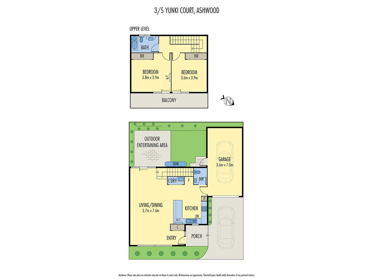 3/5 Yunki Court floorplan