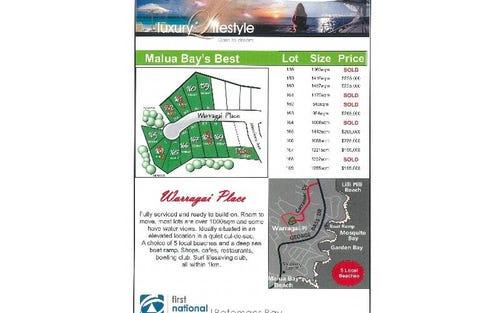 Warragai Place, Malua Bay NSW 2536