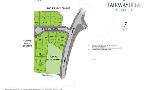 Lot 103 Brown Close, Kellyville NSW 2155