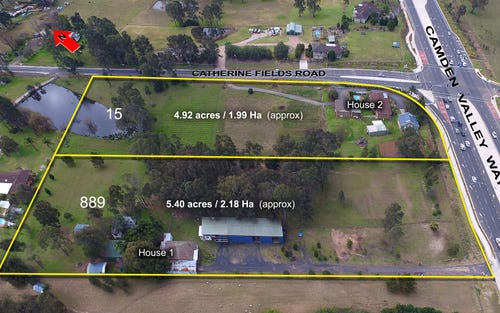 889 Camden Valley Way and 15 Catherine Fields Road, Catherine Field NSW 2557