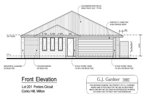 Lot 201 Porters Circuit, Milton NSW 2538