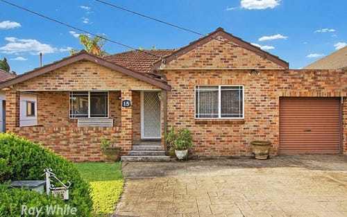 15 PATTEN STREET, Merrylands NSW