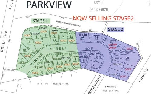Parkview Estate, Mudgee NSW 2850