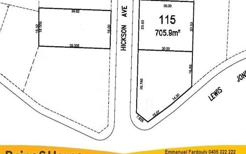 Lot 115 Hickson Avenue, Kellyville NSW 2155
