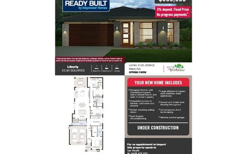 Lot 5120 Maize Ave, Spring Farm NSW 2570