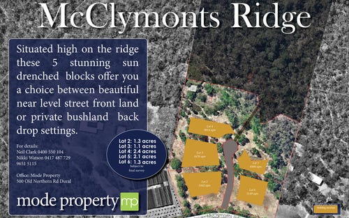258 McClymonts Road, Kenthurst NSW 2156