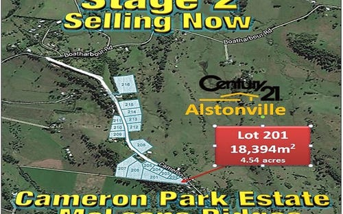 Lot 201, CAMERON ROAD, Mcleans Ridges NSW 2480