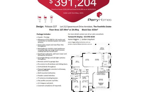 Lot 212 Spearmount Drive, Armidale NSW 2350