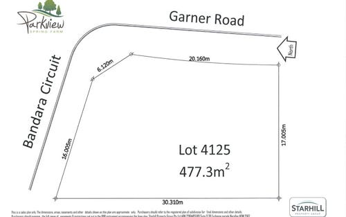 Lot 4125, 40 Bandara Circuit, Spring Farm NSW 2570