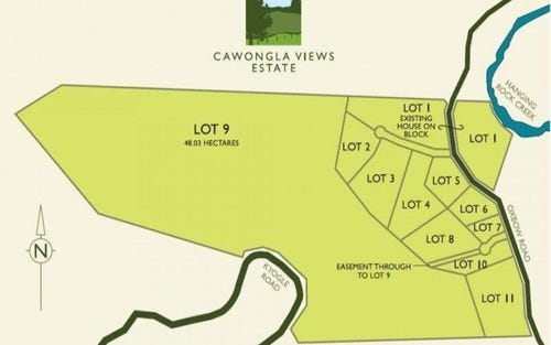 Lot 4 - 11, 7 97 Oxbow Road, Cawongla NSW 2474