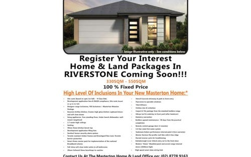 TBA Proposed Road, Riverstone NSW 2765