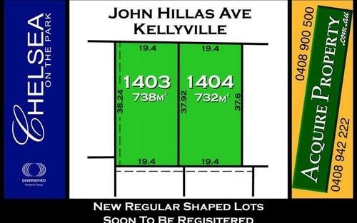 PL1403 John Hillas Avenue, Kellyville NSW 2155