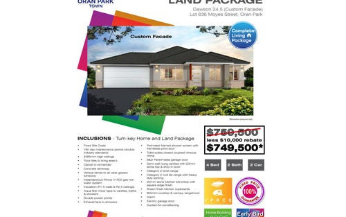 Lot 636 Moyes Street, Oran Park NSW 2570