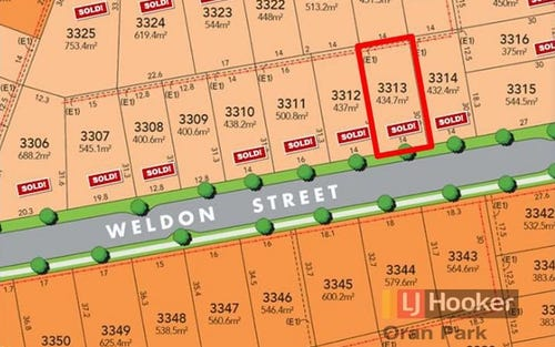 Lot 3313 Weldon Street, Oran Park NSW 2570