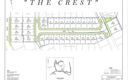 The Crest Estate, William Maker Drive, Glenroi NSW 2800