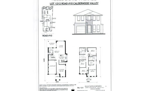 Lot 1212 New Calderwood Valley Estate, Calderwood NSW 2527