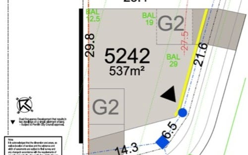 Lot 5242 Melaleuca Village, Jordan Springs NSW 2747