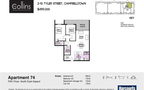 74/2-10 Tyler Street, Campbelltown NSW 2560