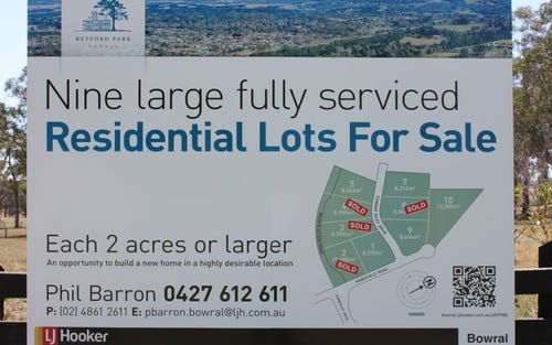 Vacant Land Mansfield Road, Bowral NSW 2576
