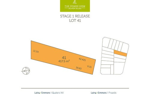 lot 41 Proposed Road, Schofields NSW 2762