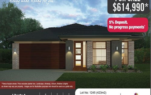 Lot No. 1245 Navigator St, Leppington NSW 2179