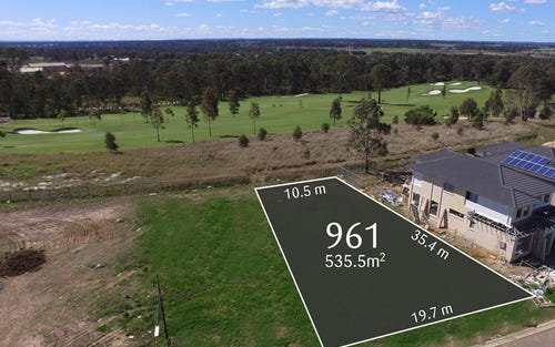 Lot 961 Sunningdale Drive, Colebee NSW 2761