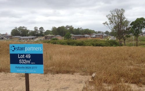 Lot 49 Armbruster Ave, Kellyville NSW 2155