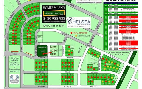 Lot 1814, Half Penny Avenue, Kellyville NSW 2155