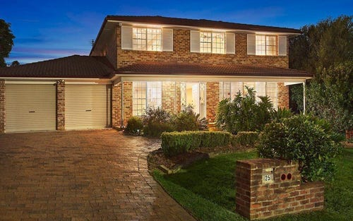25 Yerriebah Place, Castle Hill NSW 2154