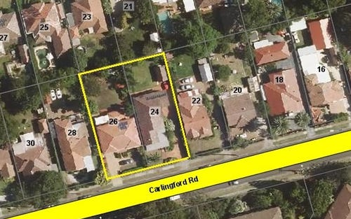 24-26 CARLINGFORD ROAD, Epping NSW 2121