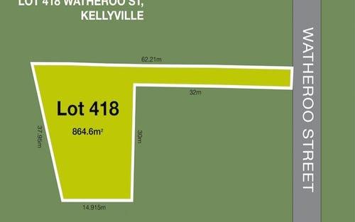 Lot 418 Watheroo Street, Kellyville NSW 2155
