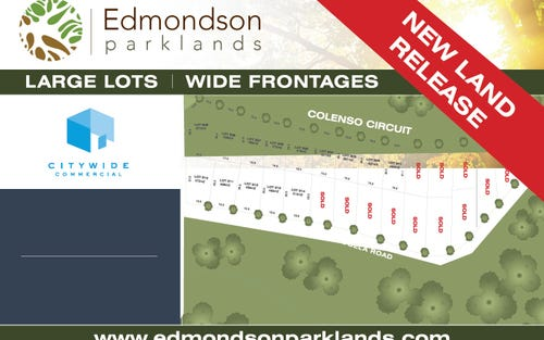 Lot 301 - 314 Colenso circuit, Edmondson Park NSW 2174
