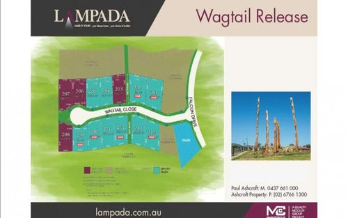 Lot 207 Lampada Estate Wagtail Release, Tamworth NSW 2340