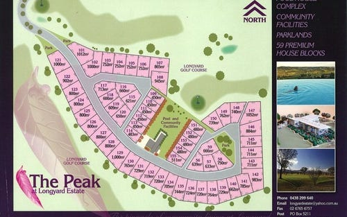 0 Lots The Peak Longyard Estate, Tamworth NSW 2340