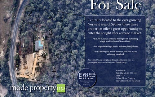 Lot 4, 239 Pitt Town Road, Kenthurst NSW 2156