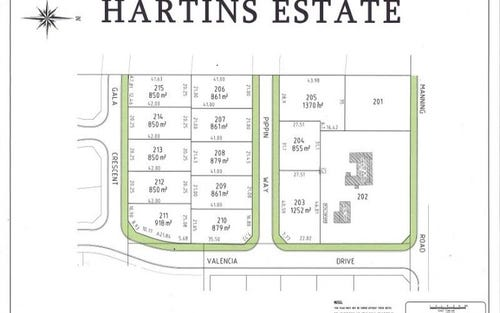 Lot 213 Hartins Estate, Glenroi NSW 2800