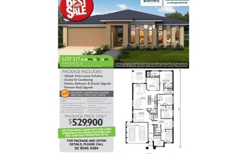 Lot 217 Avondale Drive, Thornton NSW 2322
