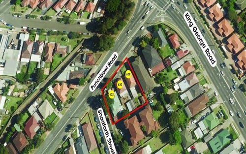 628-632 Punchbowl Rd, Wiley Park NSW 2195