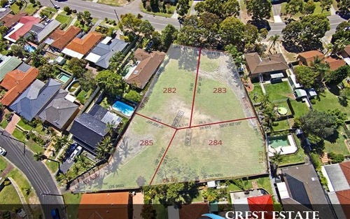Lot 282-285, 34 Sirius Avenue, Bateau Bay NSW 2261