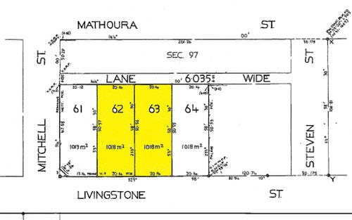 Lots, 62 & 63 Livingstone Street, Mathoura NSW 2710