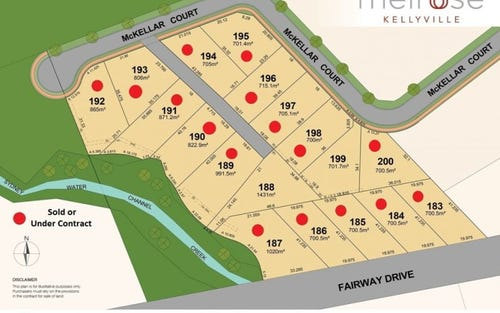 Lot 199 McKellar Court, Kellyville NSW 2155