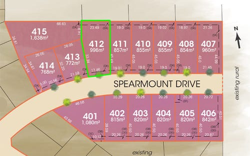 Lot 412 Spearmount Drive, Ben Venue NSW 2350