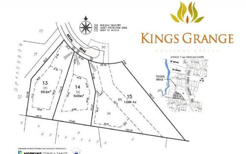 Lot 13 Regal Brae, King Creek NSW 2446