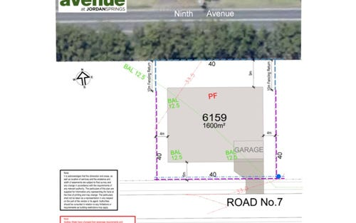 Lot 6159 Delany Circuit, Jordan Springs NSW 2747