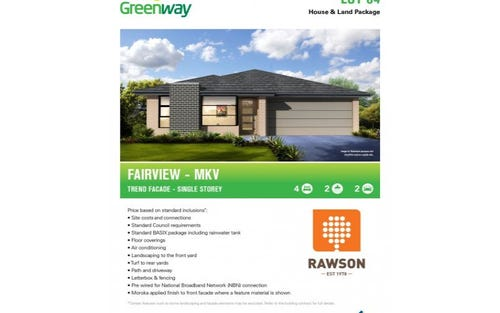 Lot 84 Greenway - Marsden Park, Marsden Park NSW 2765