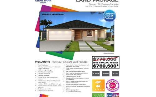 Lot 6047 Skaife Drive, Oran Park NSW 2570